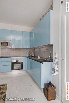 Myytävät asunnot, Telakkakatu 3 a Eira Helsinki #keittiö #oikotieasunnot