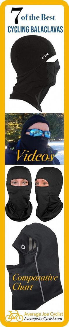 This post shares everything you need to know about how to choose the best cycling balaclava, and compares 7 of the very best winter balaclavas. #AverageJoeCyclist #cyclists #cyclist #cycling #balaclava #skimask #balaclavas #skimasks #coolbikeaccessories,roadbikeaccessories,bestroadbikes,roadbikegear,bestwomensbike,roadcyclinggear,customroadbike,bestbikescycling,bestbikeformen,bestbikeproducts,cyclingclothingroad,womensbikeclothes Winter Cycling Gear, Cycling Tips, Cycling Workout, Road Cycling, Bike Workouts, Swimming Workouts, Swimming Tips, Chest Workouts, Road Bike Women