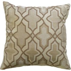 Golden Trellis Decorative Pillow From Better Homes And Gardens At Walmart # Sweepstakes
