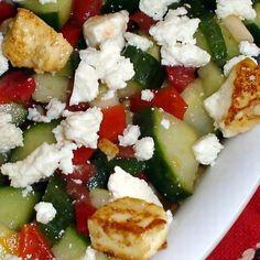 Egy finom Bolgár sopszka saláta ebédre vagy vacsorára? Bolgár sopszka saláta Receptek a Mindmegette.hu Recept gyűjteményében! Caprese Salad, Food, Essen, Meals, Yemek, Insalata Caprese, Eten