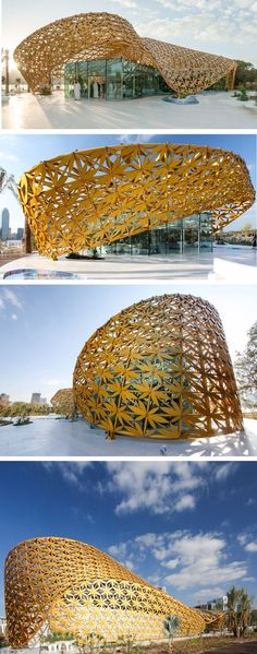 German design studio 3deluxe - Butterfly Pavilion