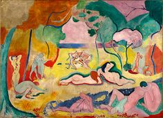 Henri Matisse, La alegría de vivir, 1905-1906