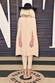 Sia | And Here's What Everyone Wore To The Oscars After Parties