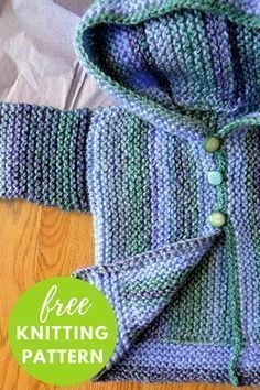 Cozy Baby Sweater Free Knitting Pattern plus a variety of other free patterns Toddler Sweater, Knit Baby Sweaters, Knitted Baby Clothes, Baby Knits, Baby Sweater Patterns, Baby Patterns, Knit Patterns, Stitch Patterns, Knitting For Kids