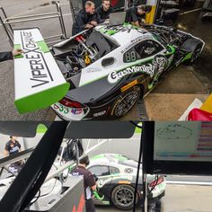 """""""1st Practice of the day, tracks wet but the  @GasMonkeyGarage  / @ViperExchange  Dodge Viper is ready for the 24 Hour Race."""" @dodgeofficial @fiatchrysler_na @officialmopar #GYSOT #GasMonkeyGarage #GasMonkey #GMG #Dodge #DodgeViper #Viper #SRTViper #SRT #GT3 #GT3R #33 #YearOfTheMonkey @marcmiller001 @jeroenbleekemolen @rrrawlings #Mopar #CarsOfInstagram #BornDodge #AmericanMuscle #MuscleCars #CarPorn #Cars4Life #InstaCar #DodgeNation #MoparNation #FastnLoud #BenKeating #RichardRawlings #"""