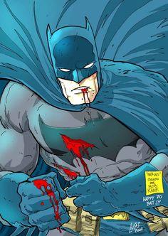 Batman by Jorge Lucas