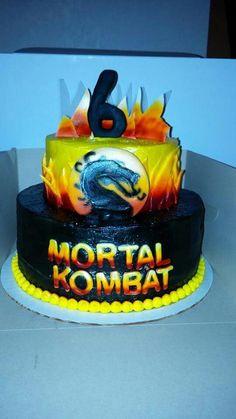 Mortal Kombat Cake that I Made!!!