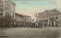 "Strada Mare, Galati, Romania, anul 1907, http://stone.bvau.ro:8282/greenstone/collect/fotograf/index/assoc/J1FI1906.dir/1FI1906.jpg. Imagine din colecţiile Bibliotecii Judeţene ""V.A. Urechia"" Galaţi."
