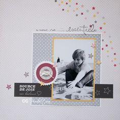 Page de CC. Collection Confettis de Swirlcards