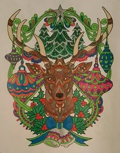 colorit free coloring pages colorist kelly gordon adultcoloring coloringforadults adultcoloringpages christmas