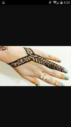 Unique Henna, Unique Mehndi Designs, Simple Henna, Henna Designs, Simple Designs, Henna Mehndi, Henna Art, Mehendi, Mehendhi Designs