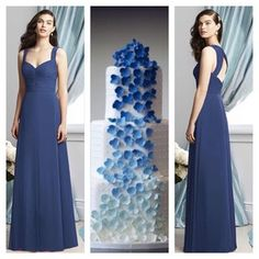 Classy chiffon dress by Dessy style 2929. Available in different colors#dessygroup #bridal #bridalparty #bride #bridesmaids #bridesmaidsdress #bridesmaidsdresses #patsbridals #wedding #MiamiWedding #miamibride