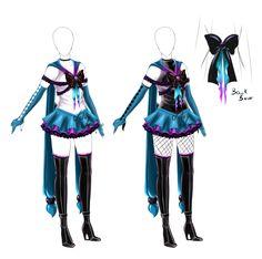 Senshi outfit - closed by LotusLumino.deviantart.com on @deviantART