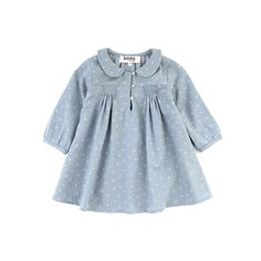 Smocked baby dress.