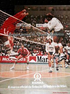 Xandó - Volleyball Brasil x URSS 1984