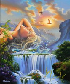 Vladimir Kush Mother Earth painting for sale, this painting is available as handmade reproduction. Shop for Vladimir Kush Mother Earth painting and frame at a discount of off. Fantasy Paintings, Fantasy Art, Elves Fantasy, Vladimir Kush, Surrealism Painting, Illusion Art, Visionary Art, Surreal Art, Art Pictures