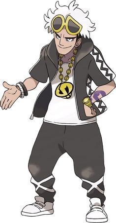 Guzma is the leader of Team Skull & the older brother of Damianus