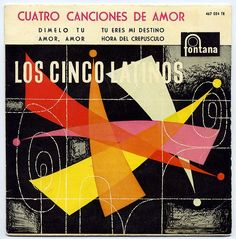 Los Cinco Latinos LP cover