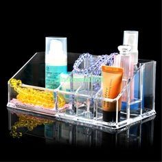 Card Holder & Note Holder Loyal Advanced Acrylic Super Transparent Clear Plastic Business Name Card Holder Display Stands Shelf