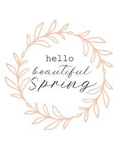 free spring printables kreativk.net