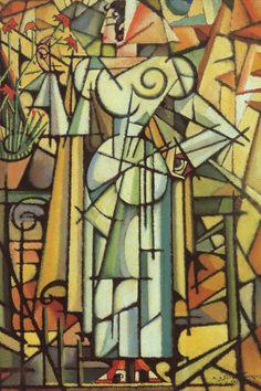 Les Œillets, 1913. Huile sur bois, 40,5 x 29,5 cm. Fondation Abel de Lacerda, Musée de Caramulo.