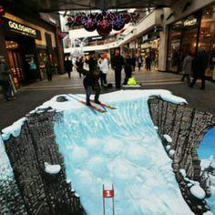 Sidewalk chalk art!!!
