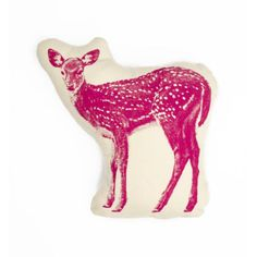 fawn pillow // at Darling Clementine