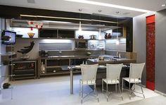 Confira as fotos de 14 Cozinhas Gourmet totalmente integradas com a sala. A cozinha gourmet é uma das mais novas tendências para a decoração das casas brasileiras, mas já faz muito sucesso nos EUA,...