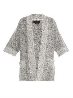 Cowens cardigan   Isabel Marant   MATCHESFASHION.COM Chunky Knit Cardigan,  Grey Cardigan, 262ff5a9d14