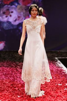 2014 Runway Report: Dramatic Romance by Claire Pettibone | OneWed
