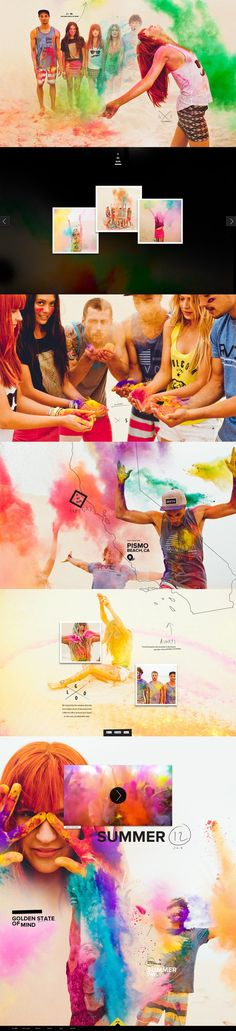 How's this for a color palette? We want to join the color run now! #webdesign #photography #colorpalette