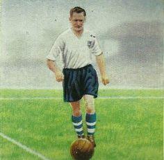 Tom Finney of Preston North End in 1953.