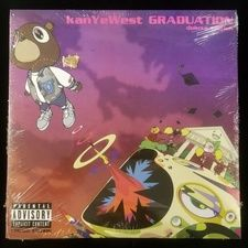 Kanye West Graduation 2x Lp Colored Vinyl In 2020 Rap Album Covers Kanye West Graduation Cool Album Covers