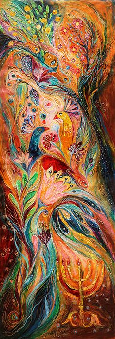 The Light of Menorah by Elena Kotliarker.
