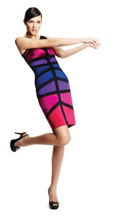 Pin & Win! True colors. #JAX #dress #bodycon #macysfallstyle BUY NOW!