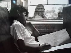 Escolar en bus- Daniel Pajuelo