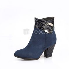 Women's Shoes  Heels / Fashion Boots Boots Outdoor / Office & Career / Casual Chunky Heel OthersBlack /  &L9 - USD $27.89 ! HOT Product! A hot product at an incredible low price is now on sale! Come check it out along with other items like this. Get great discounts, earn Rewards and much more each time you shop with us!