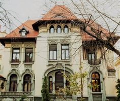 Bucharest, Mansions, House Styles, Villa, Home Decor, Romania, Park, Decoration Home, Room Decor