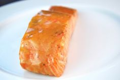 Honey-Mustard-Glazed Salmon  What's better than a 5-ingredient recipe that cooks in less than 15 minutes? Oh yeah, nothing!