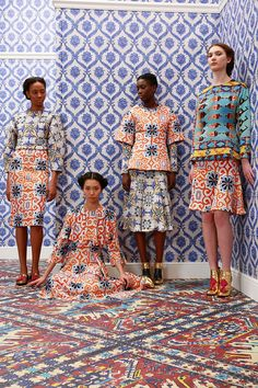 Catwalk photos and all the looks from Tata Naka Autumn/Winter 2014-15 Ready-To-Wear London Fashion Week