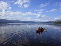 源さんのシーカヤッキング: 屈斜路湖・釧路川ツーリング