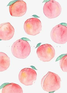 Browse around this site for perfect wallpaper ideas. These interesting background pictures will brighten your day. Peach Wallpaper, Watercolor Wallpaper, Summer Wallpaper, Kawaii Wallpaper, Watercolor Art, Perfect Wallpaper, Cute Patterns Wallpaper, Aesthetic Pastel Wallpaper, Aesthetic Wallpapers
