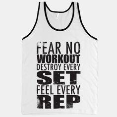 Fear No Workout #makefithappencontest