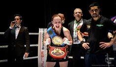 Ein Topkampf im Frauenboxen wird am 17.10.15 in der DM Arena in Karlsruhe ausgetragen!