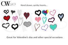 100 Hearts - Illustrations