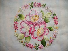 Hayfield Cottage: Some Embroideries and a Small Sampler