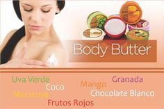 BODY BUTTER mantequillas corporales para humectar 24 HORAS la piel. EN DIFERENTES AROMAS  Deja tu piel suave,sedosa,sensual y sin grasa. ADQUIERELAS AQUÍ------------------------------------->>>>>> http://sugoi.com.co/corporal/14-body-butter-grapeseed-200ml.html
