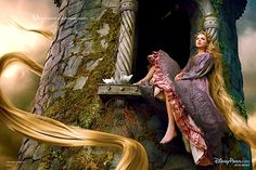 Annie Liebovitz - Disney Portraits, Taylor Swift as Rapunzel - Tangled