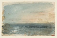 Joseph Mallord William Turner 'Twilight over the Waters', c.1820–30