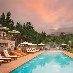 Brides: Napa and Sonoma Hotels for Honeymooners   Honeymoons   Brides.com Hotels In Napa, Calistoga Ranch, Calistoga California, California Wine, Northern California, Calistoga Hotels, California Honeymoon, Places, Viajes